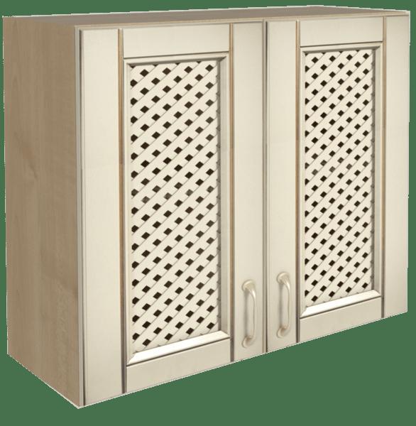 Горен кухненски шкаф B 80x72 с решетка